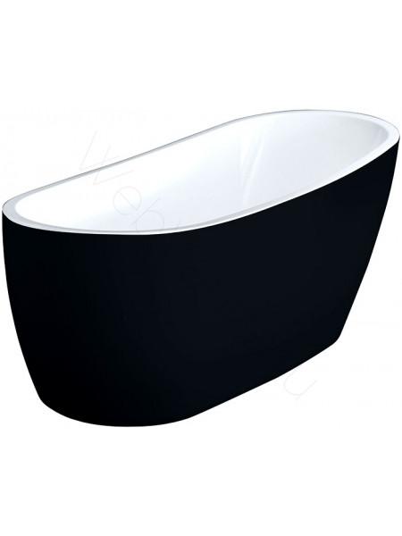 Акриловая ванна Excellent Comfort black 175х75