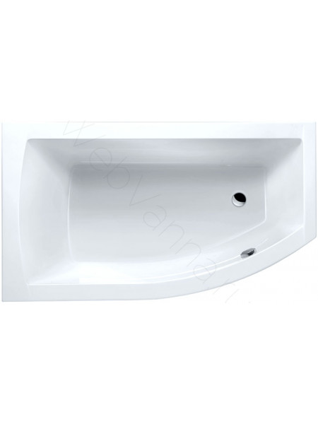 Акриловая ванна Excellent Magnus 160х95 L