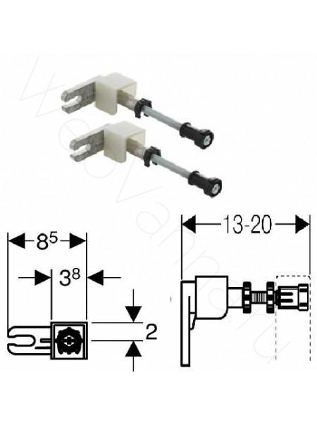 Комплект крепления к стене Geberit Duofix 111.815.00.1