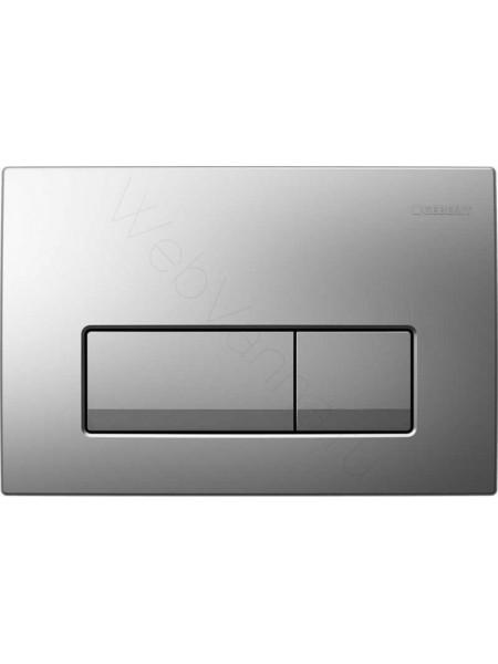 Смывная клавиша Geberit Delta 51, 115.105.46.1, матовый хром