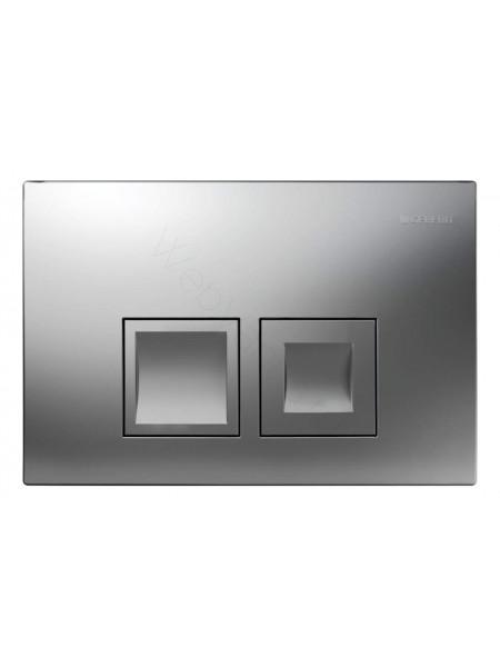 Смывная клавиша Geberit Delta 50, 115.135.46.1, матовый хром