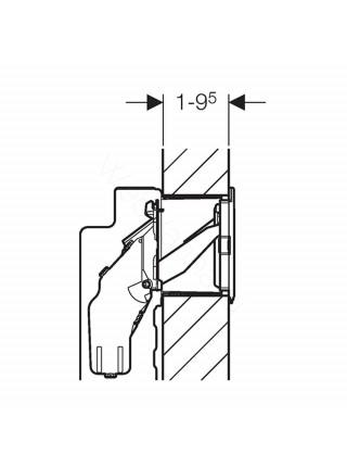 Блок Geberit для установки внутрь бачка Sigma (1,2), 115.610.00.1, для ароматических таблеток