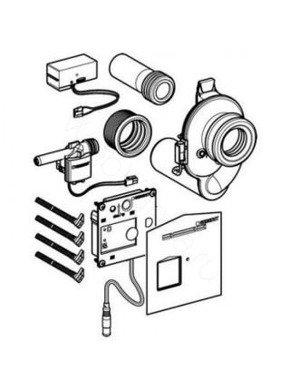 Комплект привода смыва для писсуара Geberit HyTronic, 116.010.00.1