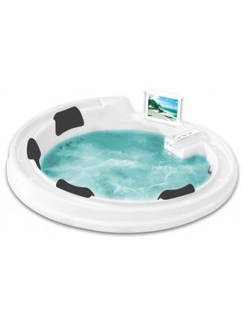 Акриловая ванна Gemy G9090 O White 190х190