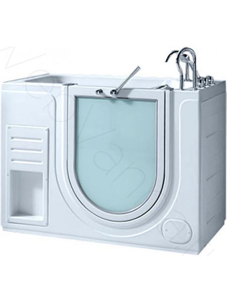 Акриловая ванна Gemy GO-05B 130х75 специальная