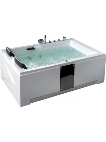 Акриловая ванна Gemy G9061 new K R 181х121
