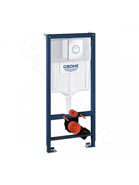 Инсталляция Grohe Rapid SL для подвесного унитаза в сборе 3 в 1 с клавишей Nova Cosmopolitan 38832000