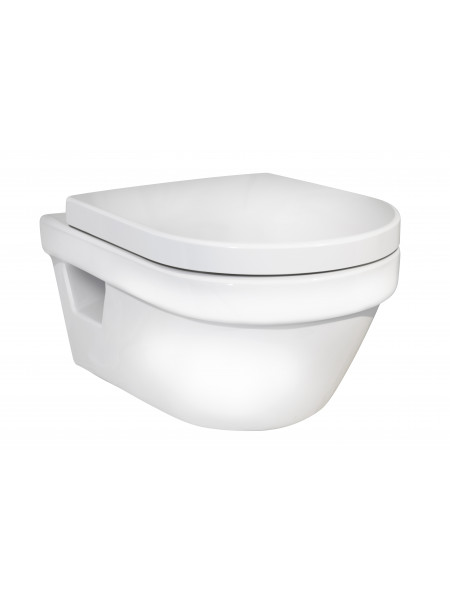 Унитаз подвесной Gustavsberg Hygienic Flush 5G84HR01 безободковый