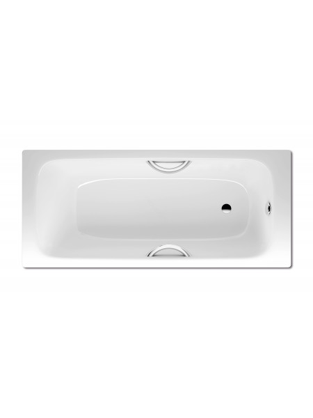Стальная ванна Kaldewei Cayono Star 170x75 с ручками, mod.756, 2756.0001.0001