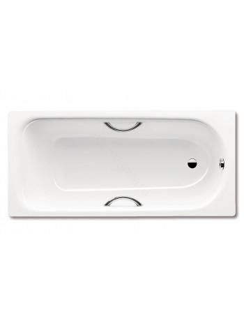 Стальная ванна Kaldewei Euronowa Form plus 150x70 с ручками, 1196.2102.0001+5910.7000.0999