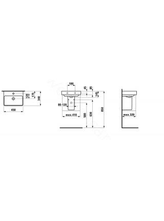 Раковина-мини Laufen PRO S 815961