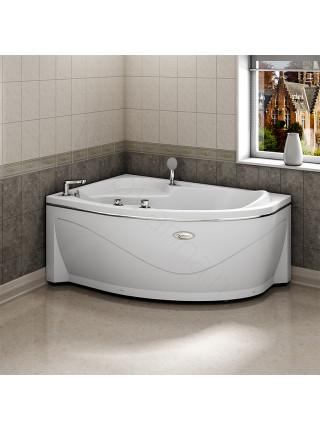 Акриловая ванна Radomir Амелия 160х105 левая, с каркасом