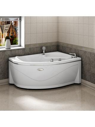 Акриловая ванна Radomir Амелия 160х105 правая, с каркасом