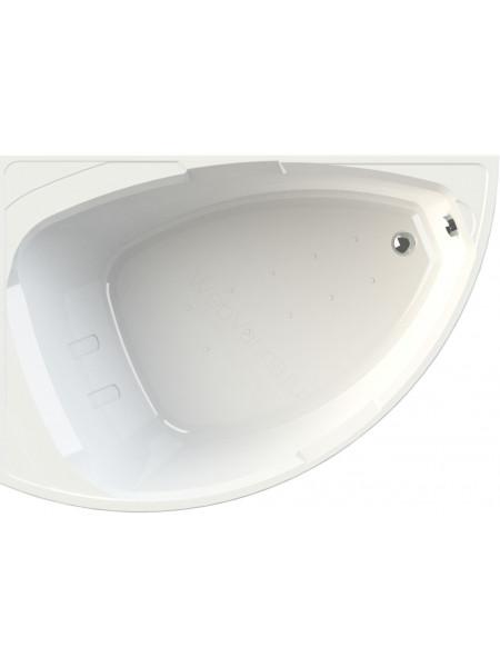 Акриловая ванна Radomir Альбена 168х120 левая, каркас, подголовник