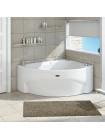 Акриловая ванна Radomir Альбена 168х120 правая, каркас, подголовник