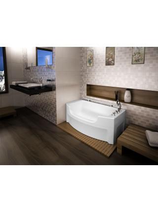 Акриловая ванна Radomir Чарли 120х69, каркас, панель, слив перелив
