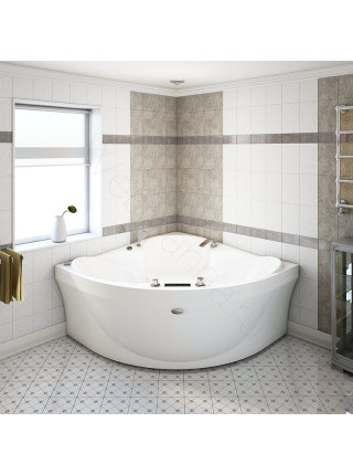 Акриловая ванна Radomir Филадельфия 168х168, с каркасом