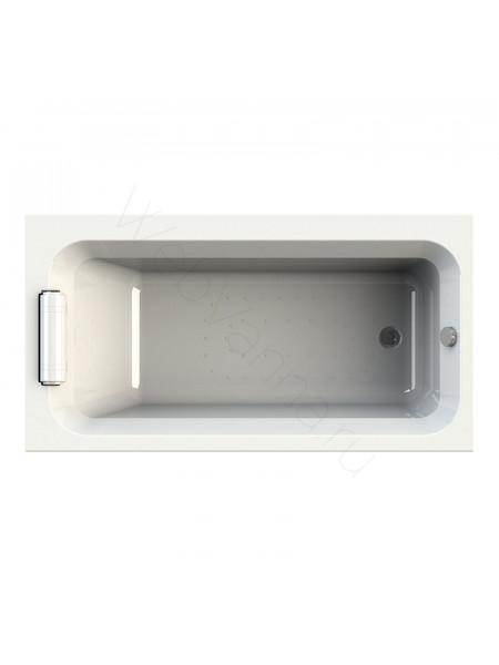 Акриловая ванна Radomir Хельга 170х90, каркас, подголовник