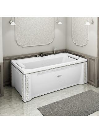 Акриловая ванна Radomir Хельга 185х100, каркас, подголовники