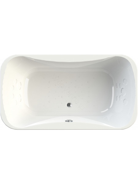Акриловая ванна Radomir Лион 200х110, с каркасом