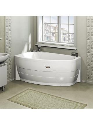 Акриловая ванна Radomir Орсини 160х90 левая, с каркасом