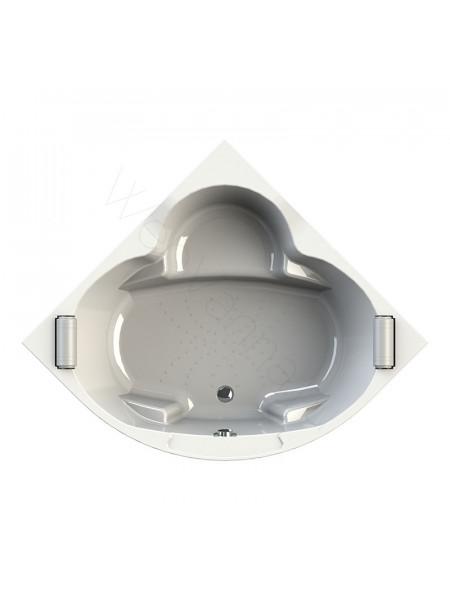 Акриловая ванна Radomir Сорренто 130х130, каркас, подголовники