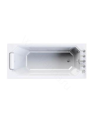 Акриловая ванна Radomir Уэльс 170х75, с каркасом, подголовник