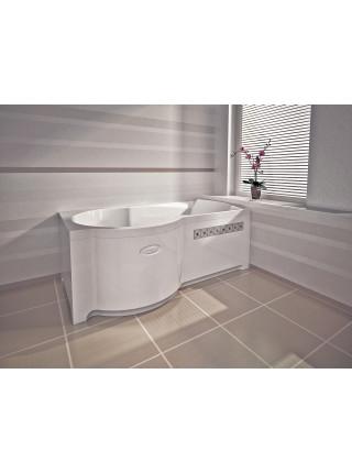 Акриловая ванна Radomir Валенсия 170х95 левая, с каркасом