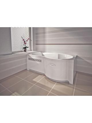 Акриловая ванна Radomir Валенсия 170х95 правая, с каркасом