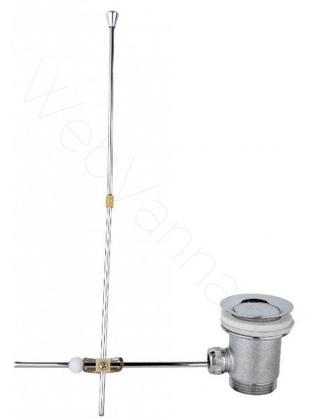 Донный клапан с рычагом Timo металл