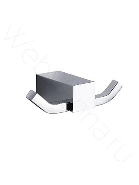Двойной крючок Zeegres Z.Cub, 21108001, хром