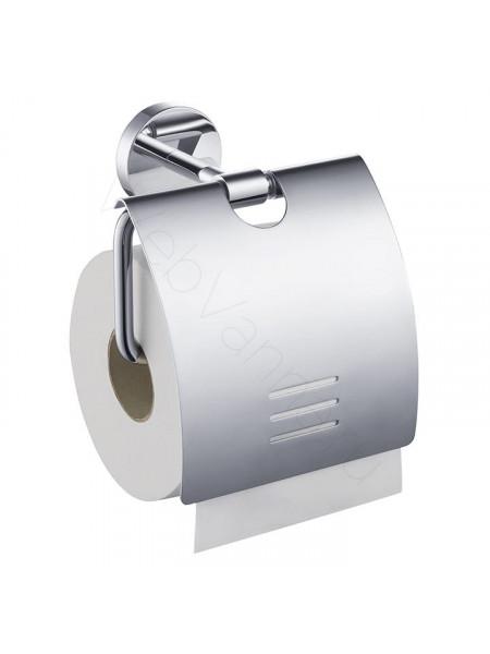 Держатель для туалетной бумаги с крышкой Zeegres Z.Fano, 25106001, хром