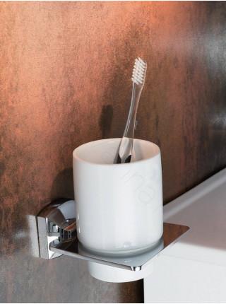 Стакан для зубных щеток Zeegres Z.Style, 24102101, хром