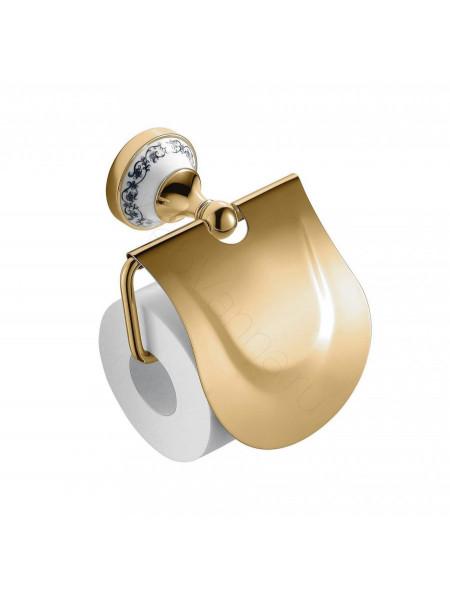Держатель для туалетной бумаги Zeegres Z.Class, 27106302, золото